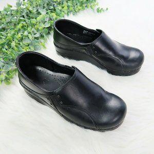 Danskos Phoebe Black Slip On Clogs Comfort Work 8